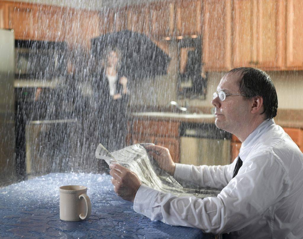 Vazamentos no apartamento